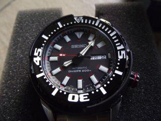 SEIKO Automatic Scuba Diver Watch SRP229K1 Taucher Uhr Baby Tuna 200m