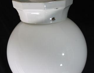 ART DECO Opalglas Lampe   Deckenlampe Durchmesser 25 cm