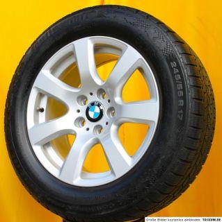 BMW 7er F01 17 Zoll Alufelgen Styling 233 Continental Winterreifen RFT