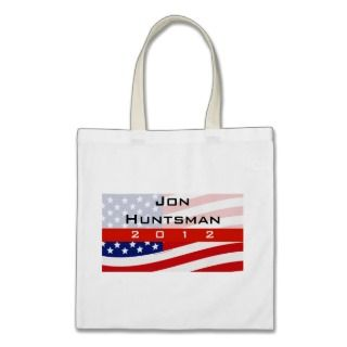 Jon Huntsman for President 2012 Tote Bags