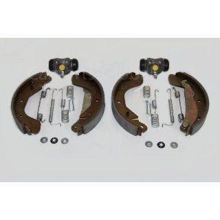 Opel Corsa C Bremsbacken Kit für die Hinterachse mit ABS