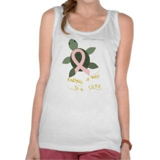 Sea Turtle Breast Cancer Support Shirt