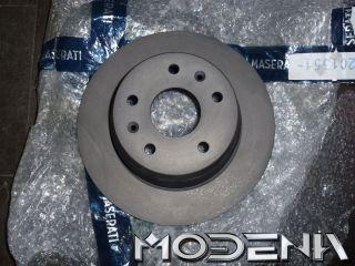 hinten Brake Disc Rotor Maserati Biturbo 224 222 Ghibli