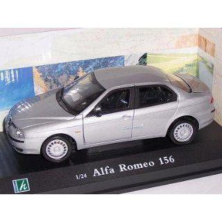 ALFA ROMEO 156 LIMOUSINE SEDAN 1998 SILBER SILVER 1/24 CARARAMA