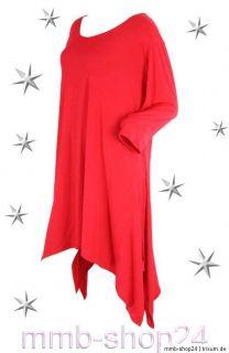 Big Size Damen Shirt Rot Salvador Gr.48 60