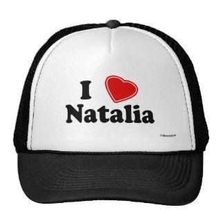 Love Natalia Hats