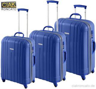CIAK RONCATO (M) HARTSCHALENKOFFER REISEKOFFER TROLLEY, TSA, 4 ROLLEN