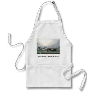 Race Time, Bar B Ques & Tail Gating Apron
