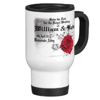 William & Kate Royal Wedding Collectibles Souvenir Mug