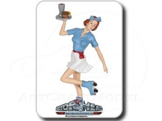 BETTY 124 Blau/Weiß   Motorhead Figur Figurine