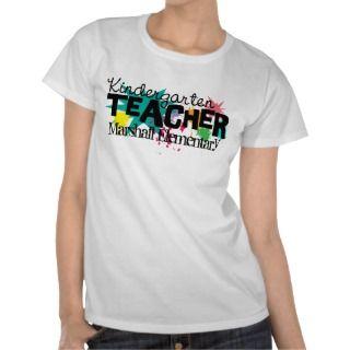 Customizable Kindergarten Teacher T Shirt