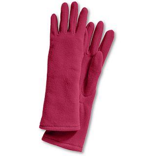 LANDS END Extralange ThermaCheck 100 Fleece Handschuhe für Damen