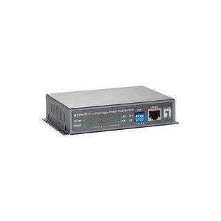LevelOne FSW 0513 Z 4 Port High Power PoE Switch Computer