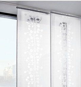 Schiebegardine Schiebevorhang 60 X 245 Neu Elegant And Sturdy Package Gardinen & Vorhänge Möbel & Wohnen