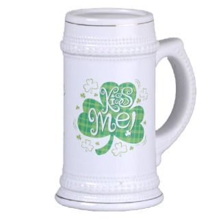 St. Patricks Day Beer Stein Mug
