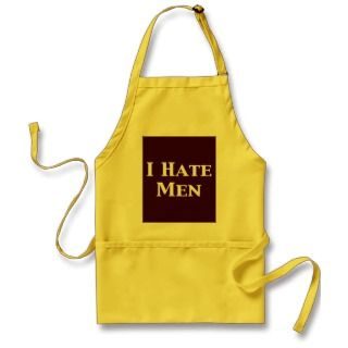 Hate Men Gifts Apron