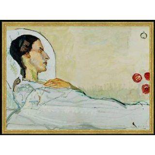 Bild mit Rahmen Ferdinand Hodler, Valentine Gode Darel im