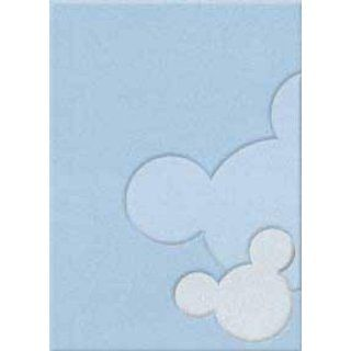 Mickey Mouse Relief blau, 110 x 170 Küche & Haushalt