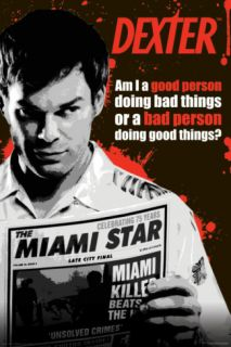 Dexter   Good or Bad Person Posters