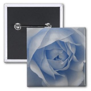 Single Blue Rose Pins