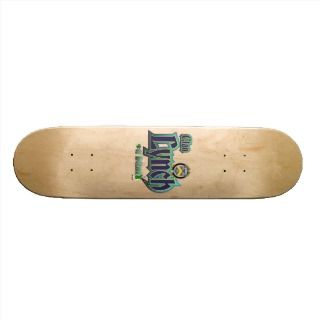 Lynch Tartan Crest Skate Board