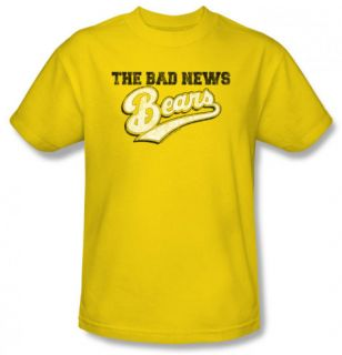 The Bad News Bears   Logo T Shirt