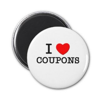 Love Coupons Refrigerator Magnet