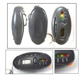 Mini LED Alkoholtester Promilletester als Anhänger H228