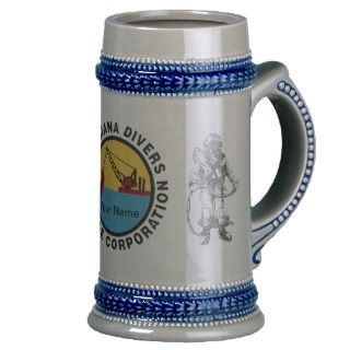 Salvage Diver Beer Stein Mug