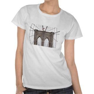 Brooklyn Bridge in New York City T Shirts