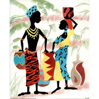 Africans (Jugs and Warrior) Posters