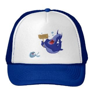 Hungry Shark Laughing Fish Hat