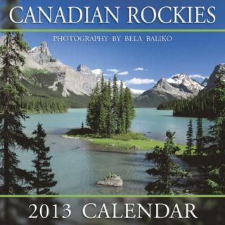 Canadian Rockies Spirit Island   2013 Mini Calendar Calendars