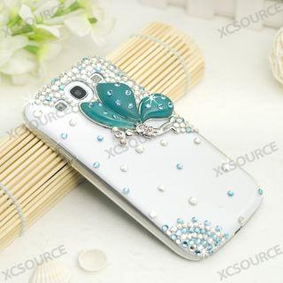 Taschen 3D Cute Butterfly Bling Hard Case Für Samsung Galaxy S3 I9300