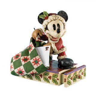 Micky Maus Weihnachtsmann Walt Disney Mickey Mouse Deko Figur