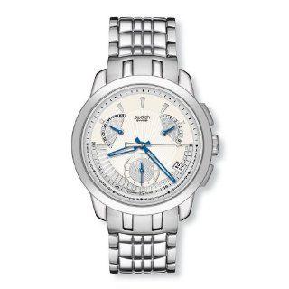 Swatch Irony Chrono Retrograde Blue Signs Yrs 402G Swatch