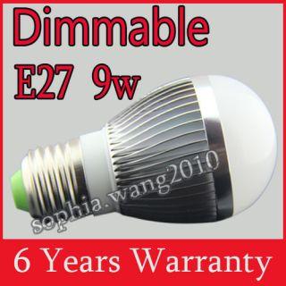 4x E27 Dimmable LED Light Bulb Lamp 5W 6W 7W 9W Cool/Warm White VS 35W