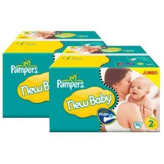 176 Stück PAMPERS Jumbo Pack, New Baby   New Born, mini, Gr 2, 3 6 kg