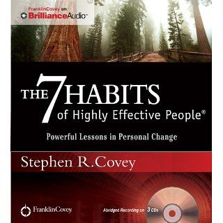 The 7 Habits of Highly Effective People Powerful Lessons in Personal