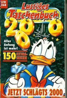 LTB Nr. 268 Lustige Taschenbücher Walt Disney Comic Donald Duck Micky