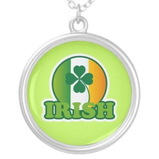 Irish Shamrock St Patricks Day Jewelry Gift