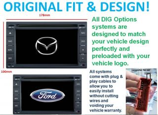DIG Options GPS Mazda Ford Car Player Navigation BT 50 Ranger DVD iPod