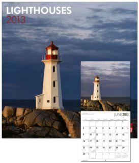 Lighthouses   2013 Wall Calendar Calendars