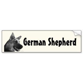German Shepherd Dog Bumper Sticker