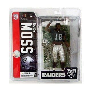 McFarlane NFL Series 13 RANDY MOSS   Oakland Raiders