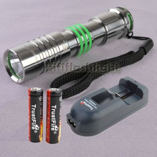 TrustFire F25 260L 5M CREE R5 LED 14500 Flashlight Torch TR 002
