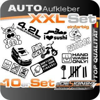 E272 Shocker DUB Aufkleber Sticker Autoaufkleber Auto Style Fun Tuning