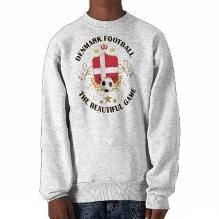 Denmark Football Soccer Futbol Sweatshirts