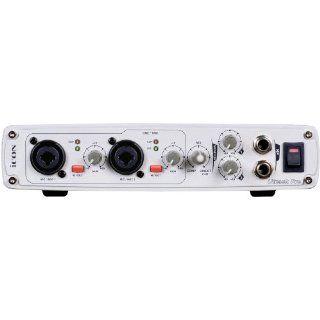 Icon Utrack Pro USB Audio/MIDI Interface mit 4 analogen