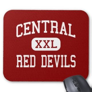 Central   Red Devils   High   Phenix City Alabama Mouse Mats